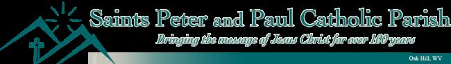 Saints Peter & Paul Parish Logo